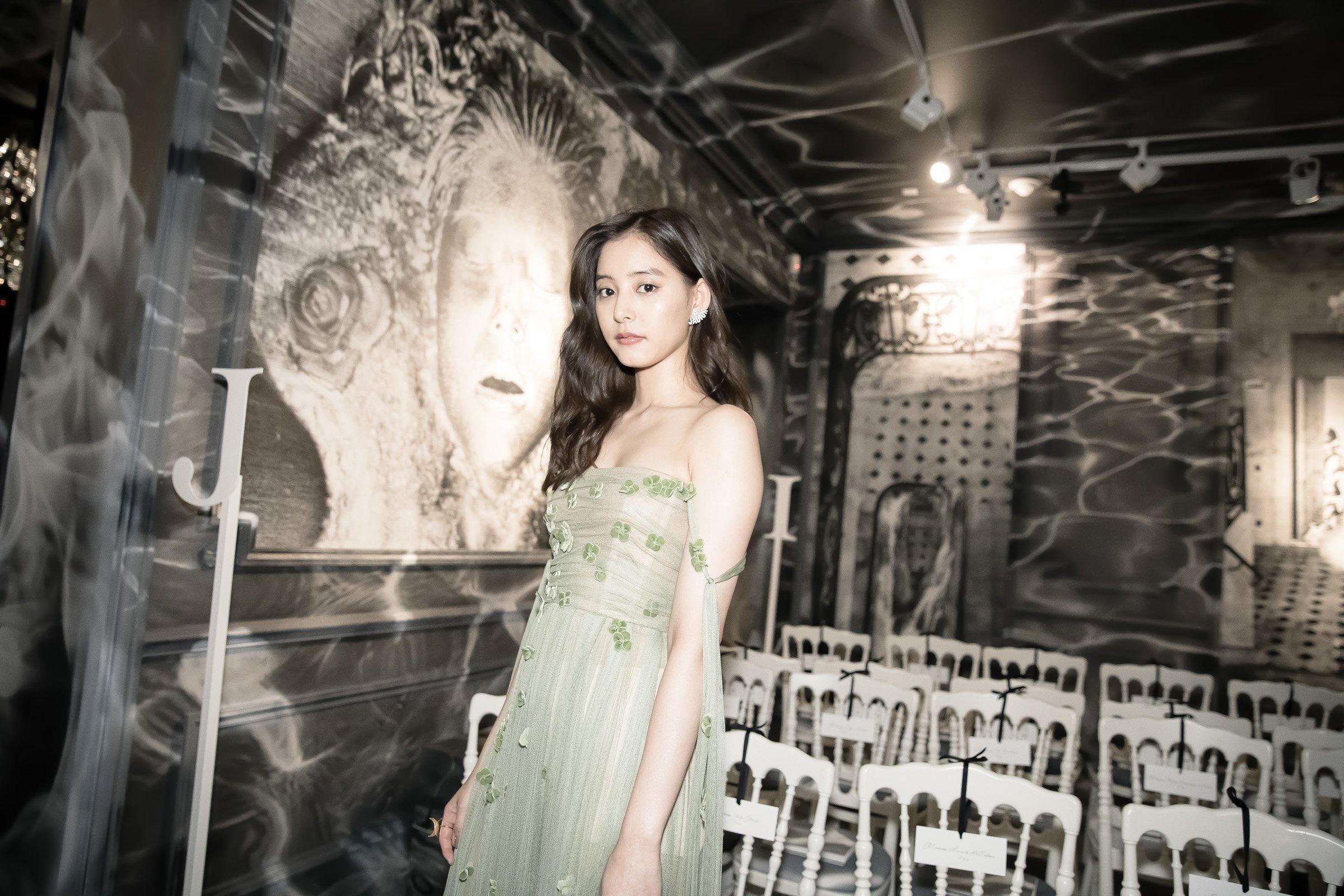 新木優子のdiorのドレスが綺麗!アンバサダーに抜擢!コスメを紹介